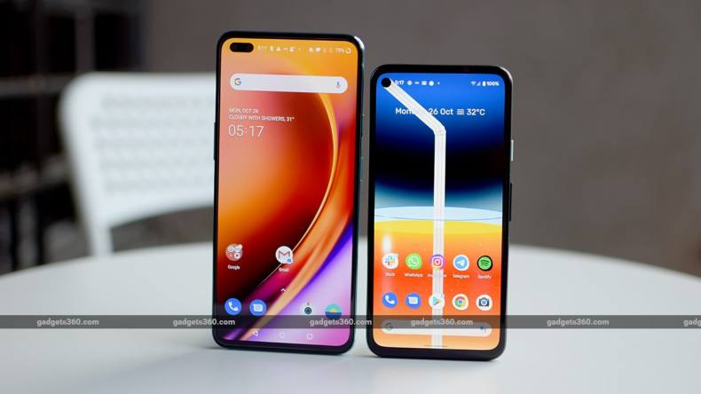 oneplus nord vs pixel 4a comparison display ss