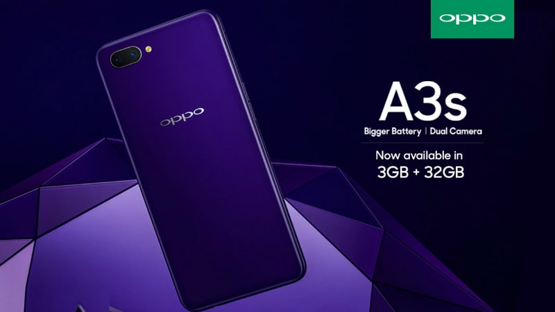 Image result for Oppo A3s smartphone 4k