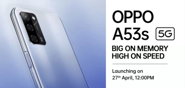 Oppo A53s 5G phone with 8GB RAM will be launched in India today, know what will be the price