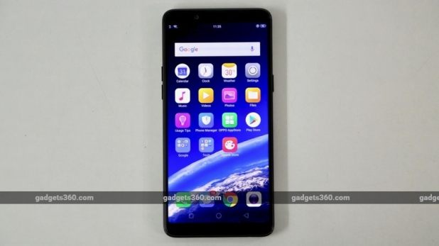oppo realme 1 front icons gadgets 360 oppo
