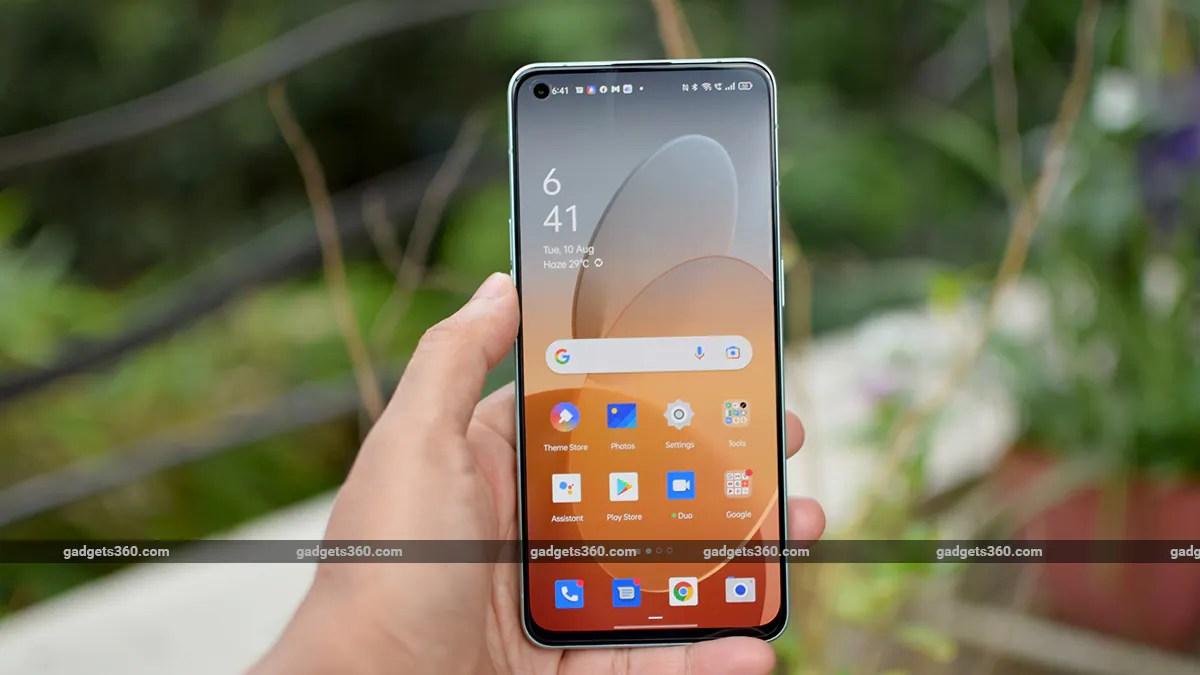 oppo reno 6 review screen gadgets 360 ww