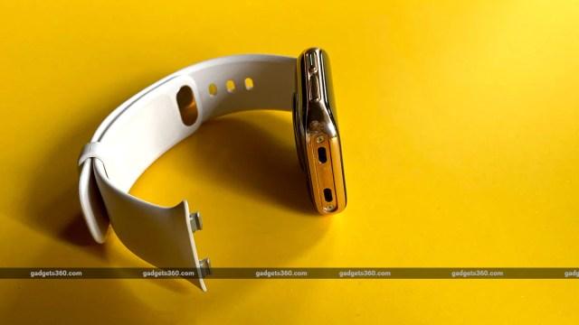 Обзор часов OPPO Разъем ремешка Обзор Oppo Watch