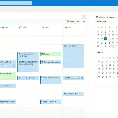 Microsoft Brings Trello-Like Board View to Outlook Calendar