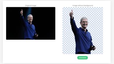 هذه أداة مجانية على الإنترنت يمكن إزالة الخلفية من الصور الخاصة بك باستخدام منظمة العفو الدولية في ثوان 4