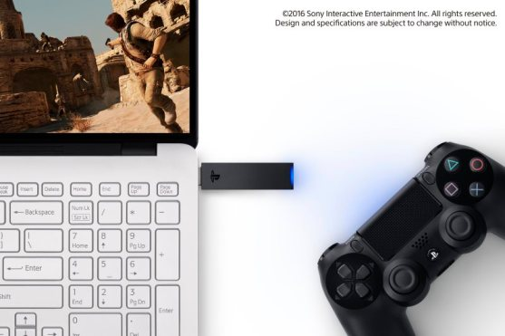 PlayStation Now Game Streaming, DualShock 4 Wireless Adaptor Announced for PC