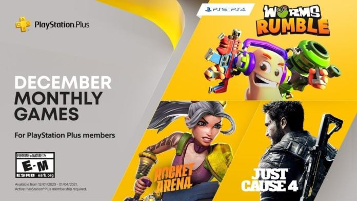 Playstation Plus Free Games Announced For December Just Cause 4 Rocket Arena Worms Rumble Ndtv Gadgets 360