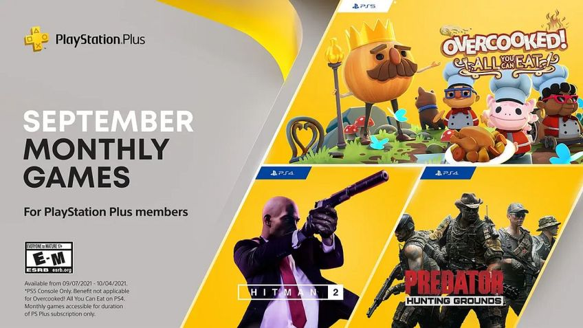 PlayStation Plus Free Games Announced for September