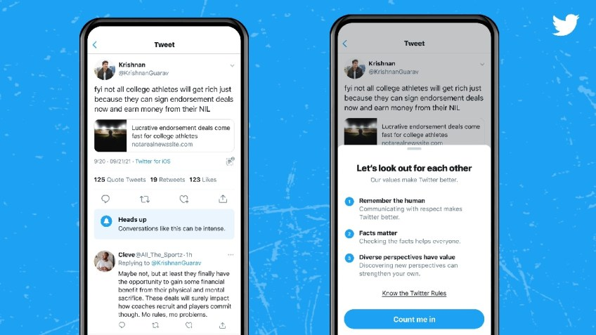 Twitter Testing Prompts That Warns Users About 'Heated' Conversations