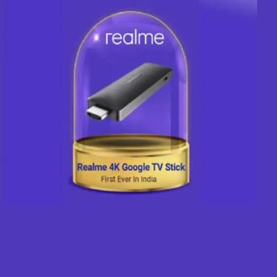 Realme to Launch 4K Streaming Device During Flipkart Big Billion Days Sale