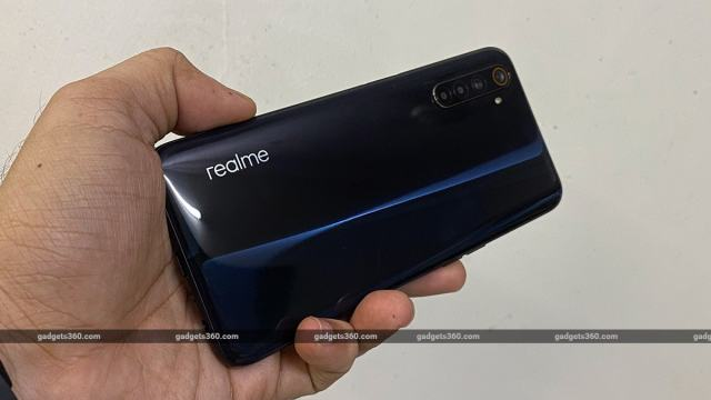 realme 6i back gadgets360 Realme 6i Review