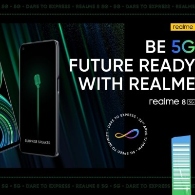 Realme 8 5G Set to Launch in India on April 22