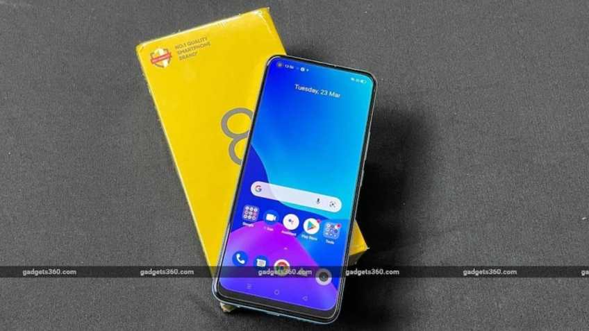 Realme 8 Pro Getting April Security Patch, Camera Optimisations
