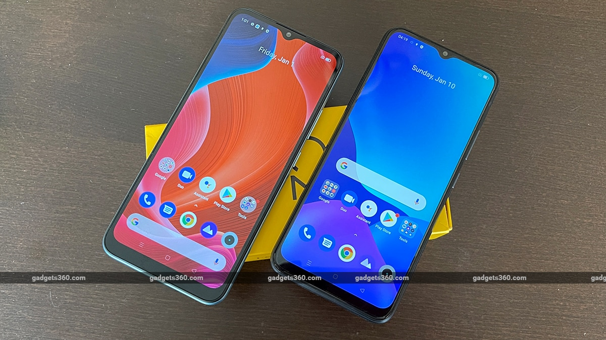 realme c25 c21 first impressions screen ee