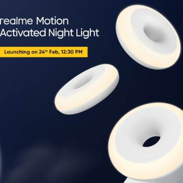 Realme Motion Activated Night Light Set to Launch in India Tomorrow