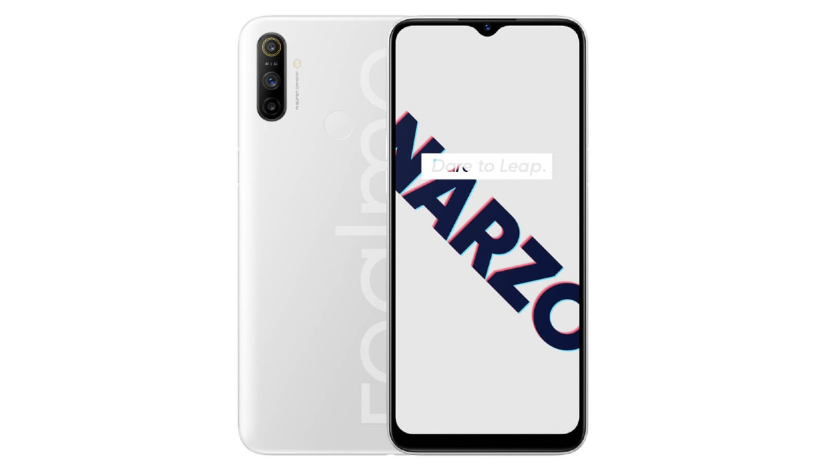 Realme Narzo 10A to Go on Sale in India Today at 12 Noon