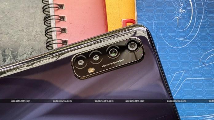 realme narzo 20 pro back cameras gadgets360 Realme Narzo 20 Pro Review