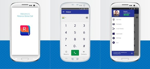 Reliance Global Call Unveils RGC India International Calling App for Android, iPhone