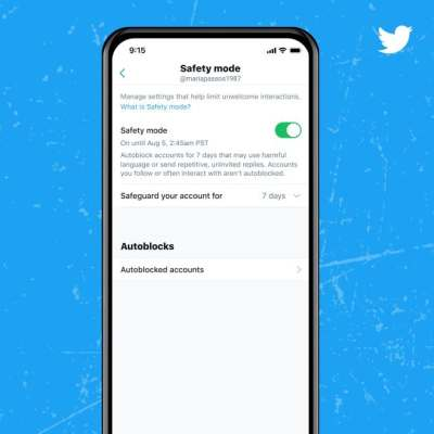 Twitter Launches Safety Mode to Block Accounts for Harmful Language