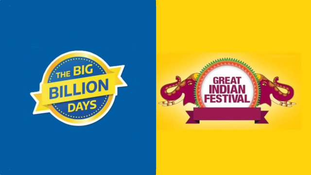 Amazon Great Indian Festival Sale and Flipkart Big Billion Days Sale