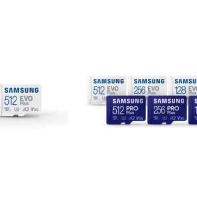 Samsung Launches Pro Plus, Evo Plus MicroSD Cards With Six-Proof Protection