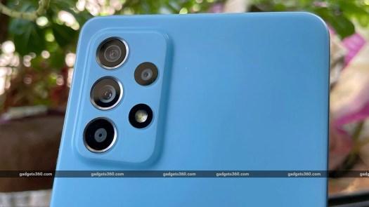 samsung galaxy a52 camera module gadgets 360 Samsung Galaxy A52 Review