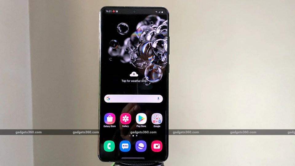 samsung galaxy s20 ultra amoled display Samsung Galaxy S20 Ultra Review