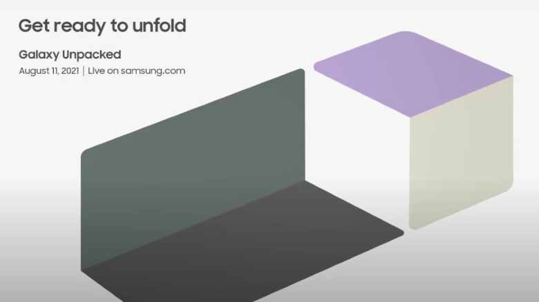 Samsung Galaxy Unpacked for August 11th;  Galaxy Z Fold 3, Galaxy Z Flip 3 – price surface again