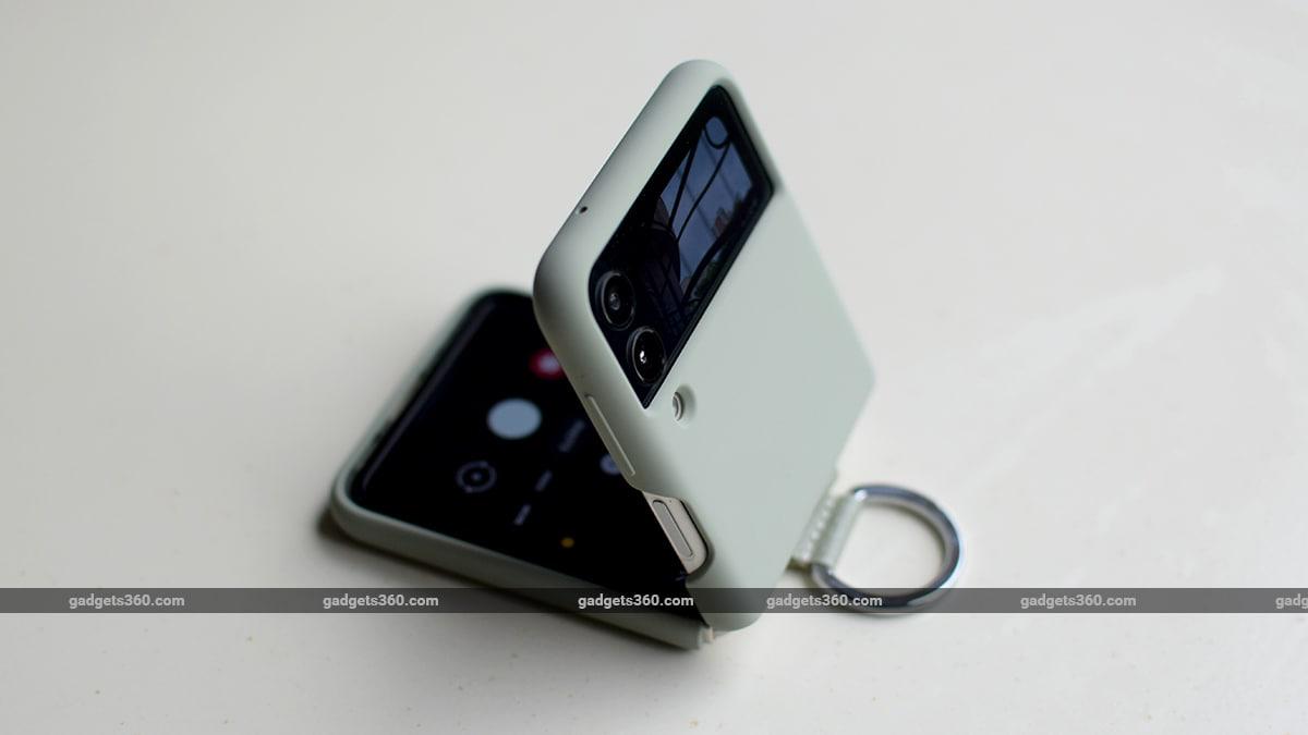 samsung galaxy z flip 3 review cover gadgets 360 ww