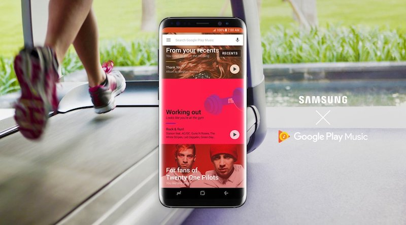 Samsung Makes Google Play Music the Default Music App and Service on Its Devices