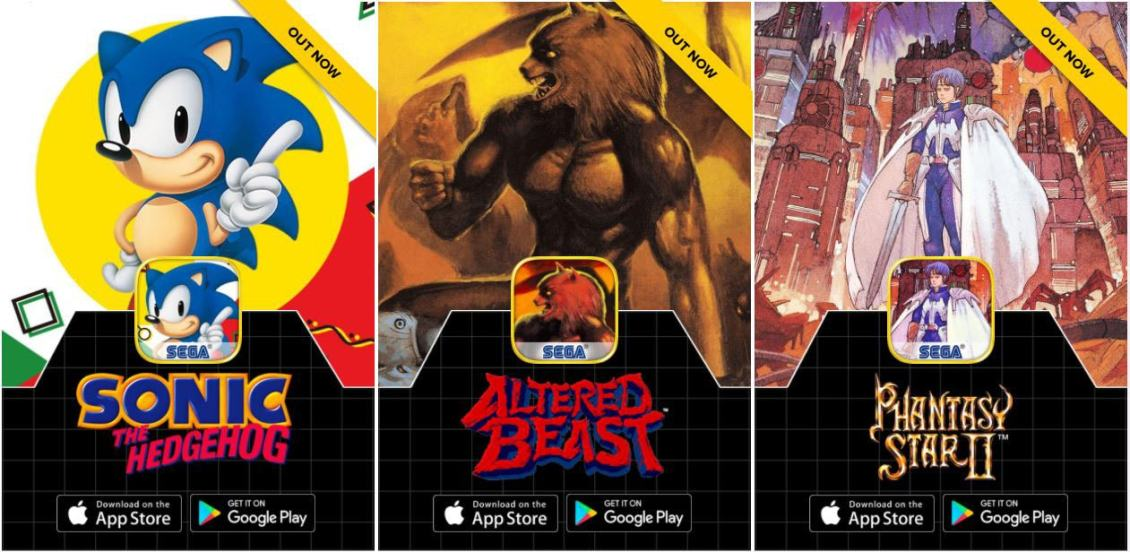Sega Forever Brings Retro Games to Android and iOS