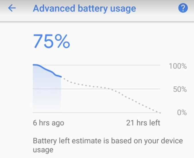how to get better battery life pixel 2