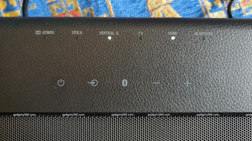 sony ht x8500 soundbar review buttons Sony