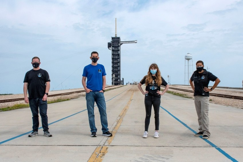 SpaceX First All-Civilian Spaceflight Crew Finalised