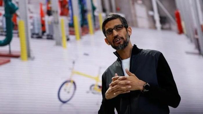 Google CEO Sundar Pichai Appointed to Alphabet's Board