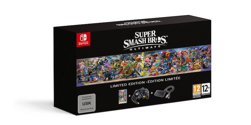 Smash Bros Ultimate Limited Edition For Nintendo Switch