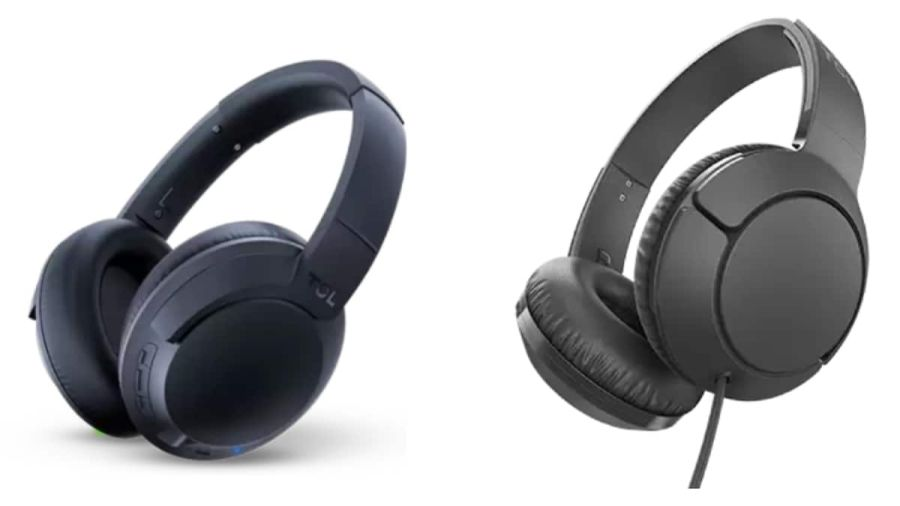tcl headphones ELIT400NC and TCL MTRO200