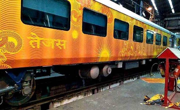 Tejas Express With on Board Wi-Fi, Infotainment System Set to Flag Off