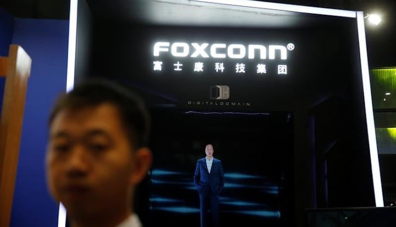 Foxconn Plans US Display Plant for Over $10 Billion, Scouting for Location