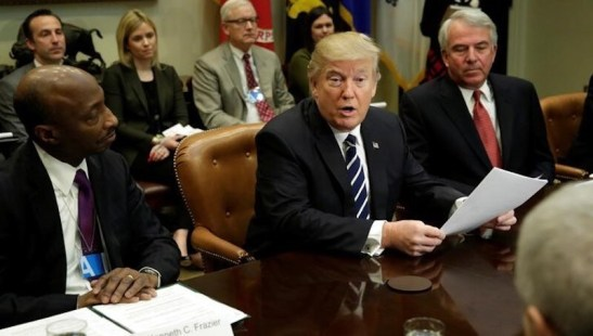 US President Donald Trump Signing of Cyber-Security Executive Order Postponed