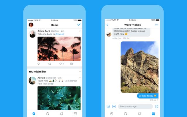 twitter ios redesign twitter