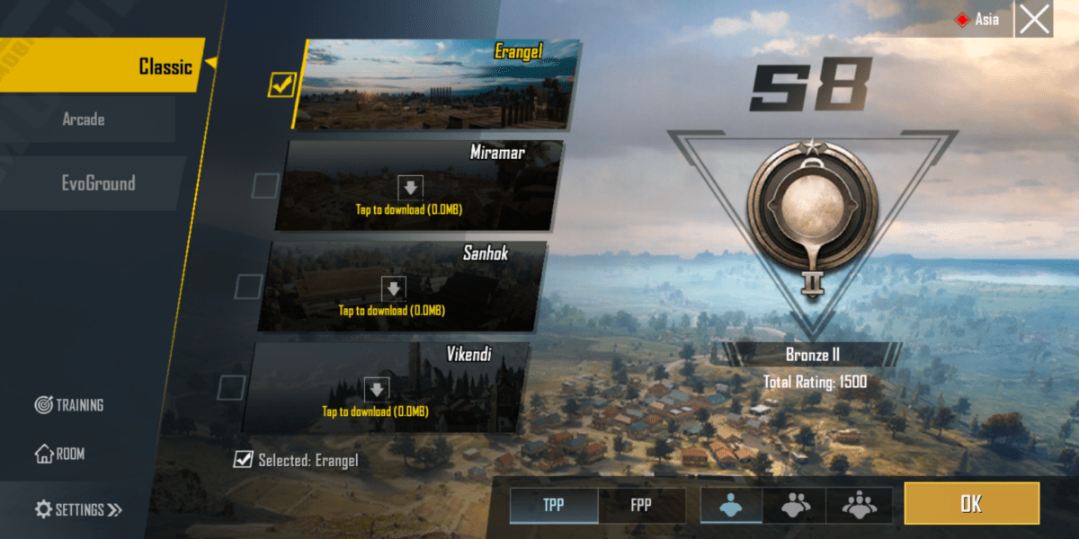 updated load screen PUBG Mobile