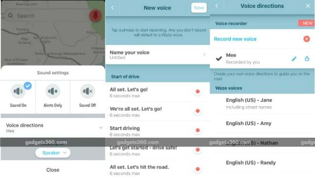 Waze for iOS Gets the Ability to Record Your Own Voice for Navigation Commands