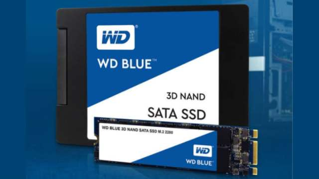 WD Blue 3D, SanDisk Ultra 3D SSDs With New 64-Layer 3D NAND Technology Launched