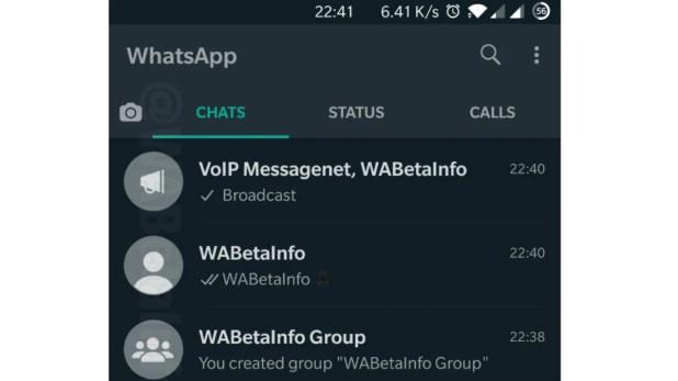 whatsapp android dark mode avatar images wabetainfo WhatsApp