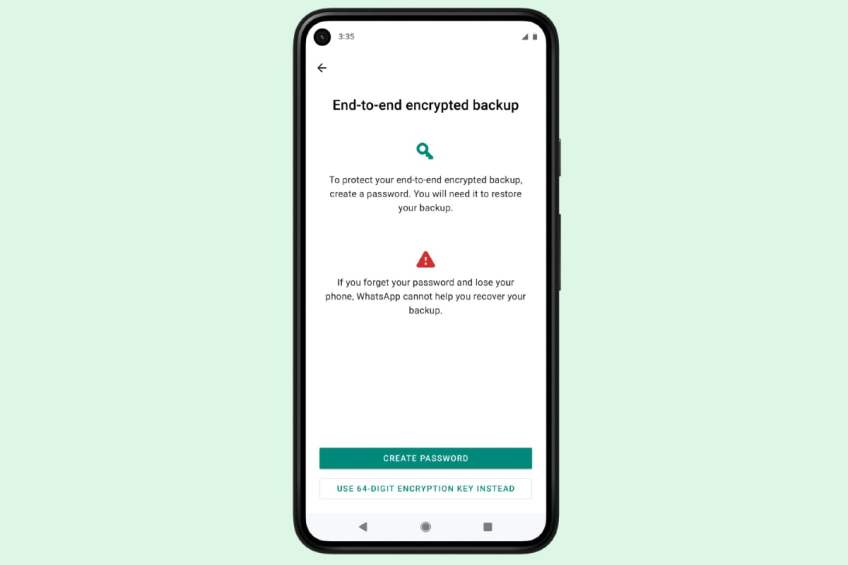 WhatsApp to Bring End-to-End Encrypted Cloud Backups in the Coming Weeks