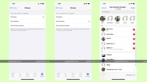 whatsapp group privacy iphone WhatsApp for iPhone