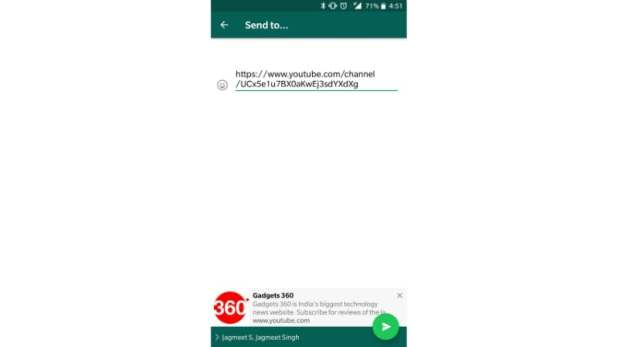 whatsapp multi share preview update gadgets 360 WhatsApp