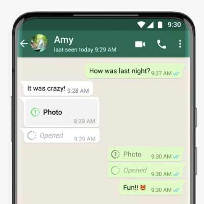 WhatsApp for iPhone Starts Getting 'View Once' Feature for Images, Videos