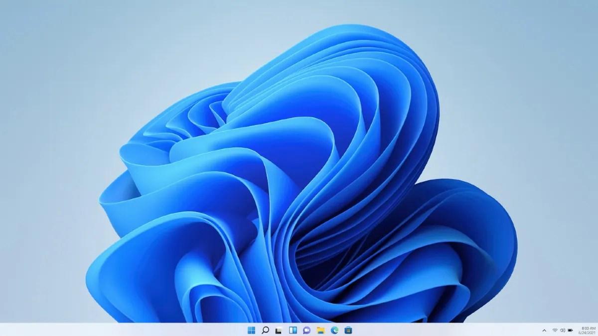 windows 11 homescreen image microsoft Windows 11