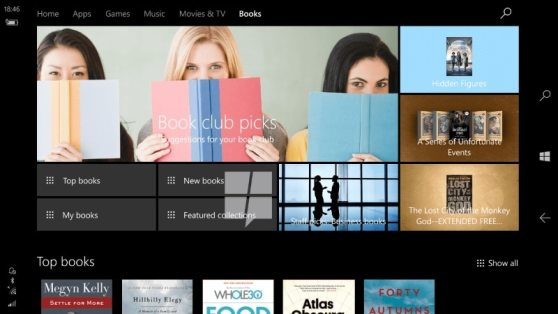 Windows 10 Ebook Store Leaked in Images, Tipped to Launch in April